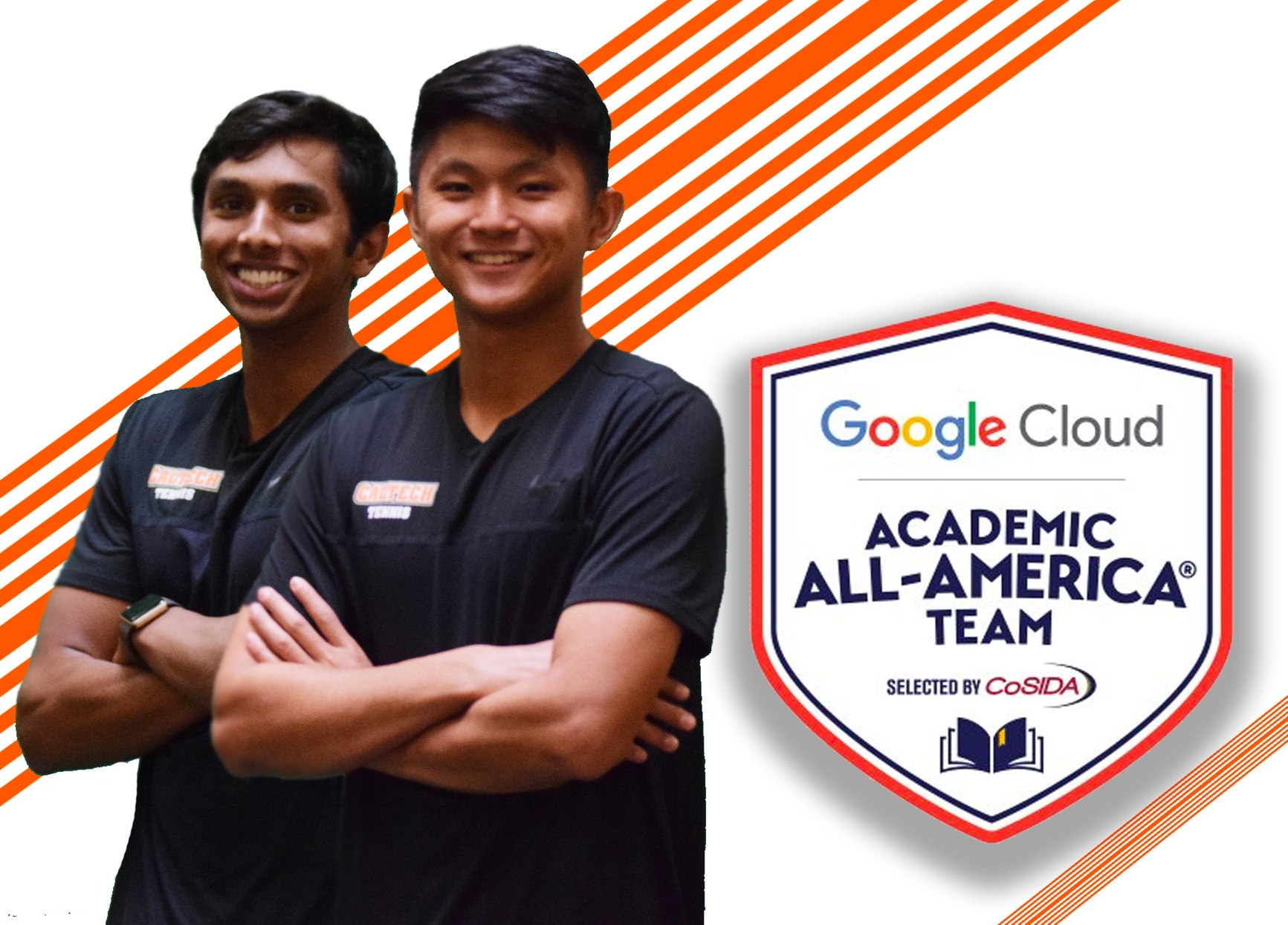 Shanker, Wei Named Google Cloud Academic All-Americans