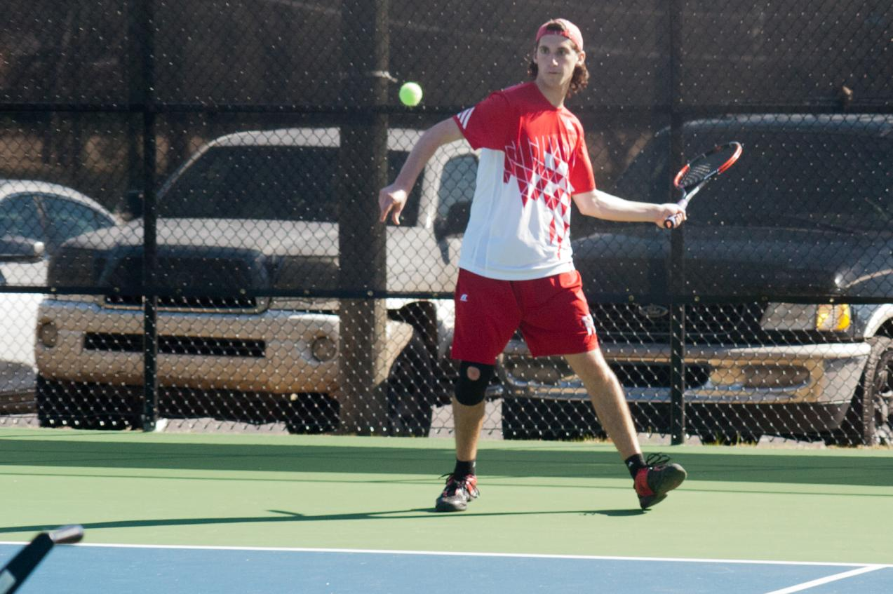 Huntingdon men's tennis drops close match with Piedmont