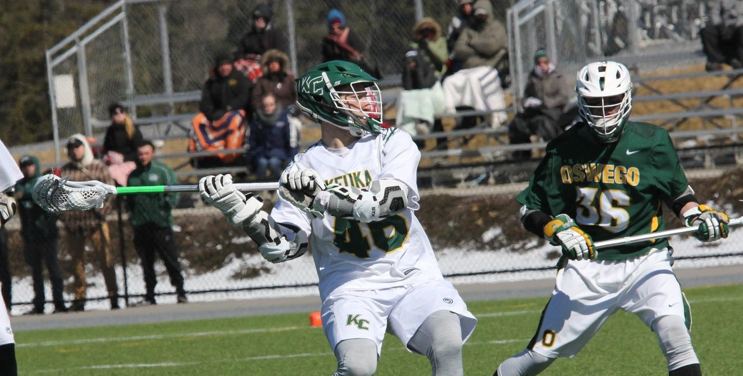 Seth Spurgeon (46) scored three goals for the Wolves on Saturday -- Photo by Ed Webber