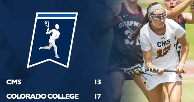 CMS Women's Lacrosse Falls to Colorado College in NCAA Championship Play