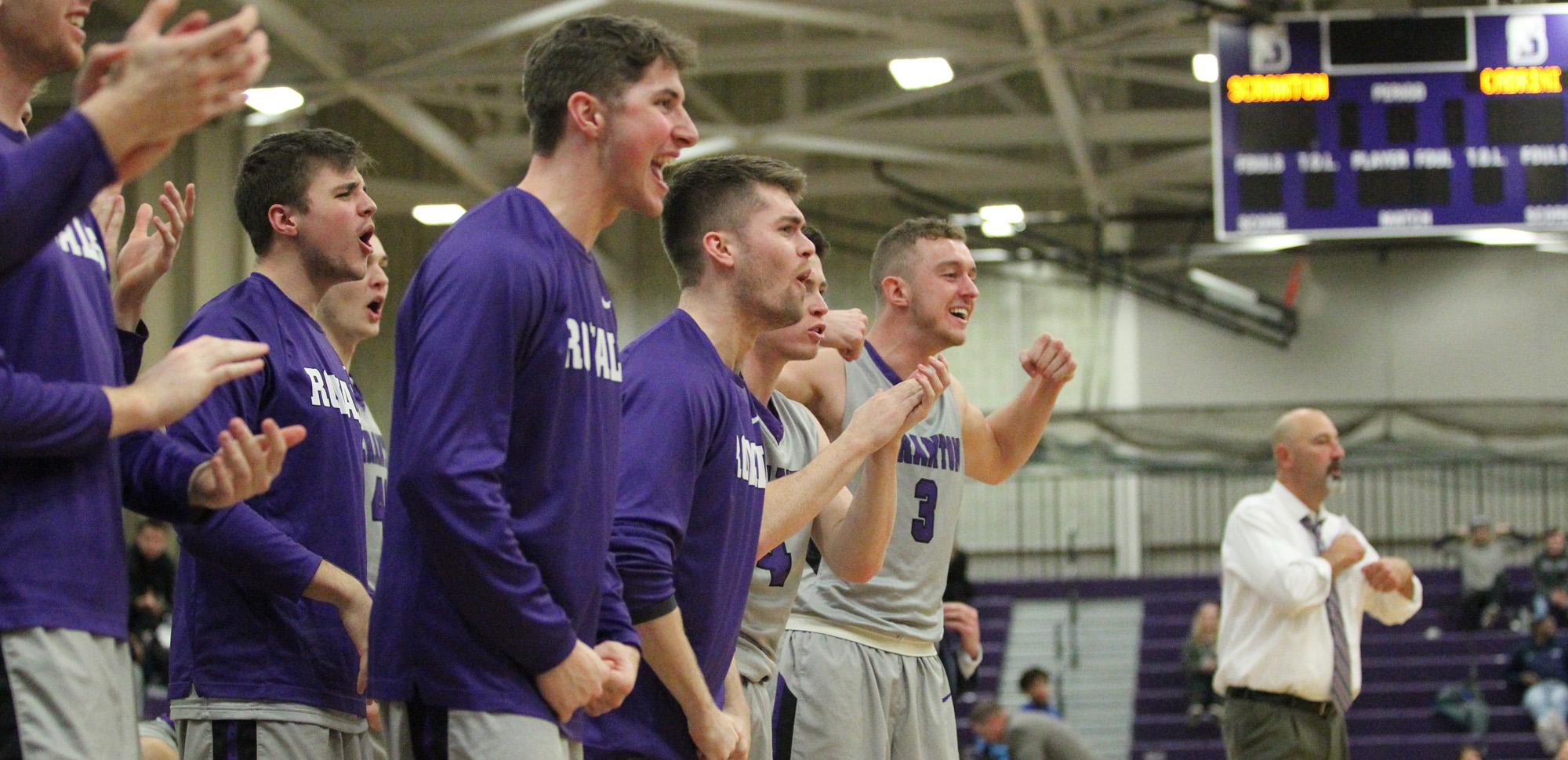 The men's basketball team is ranked eighth in the first NCAA Division III regional rankings.