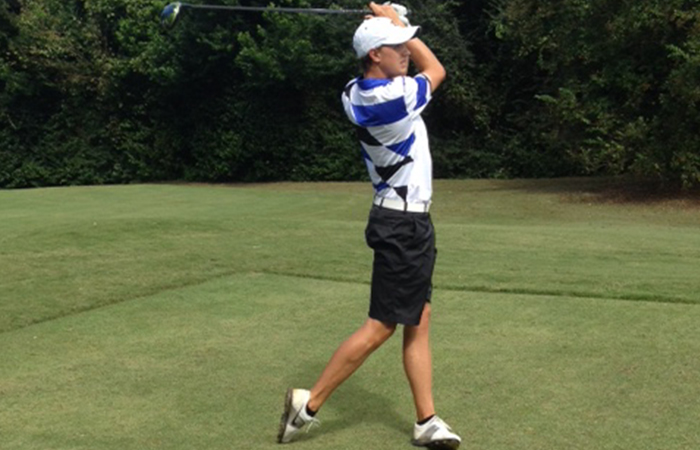 Olsson Gets Hot Down The Stretch, Leads 'Canes On Day 1 In Tennessee