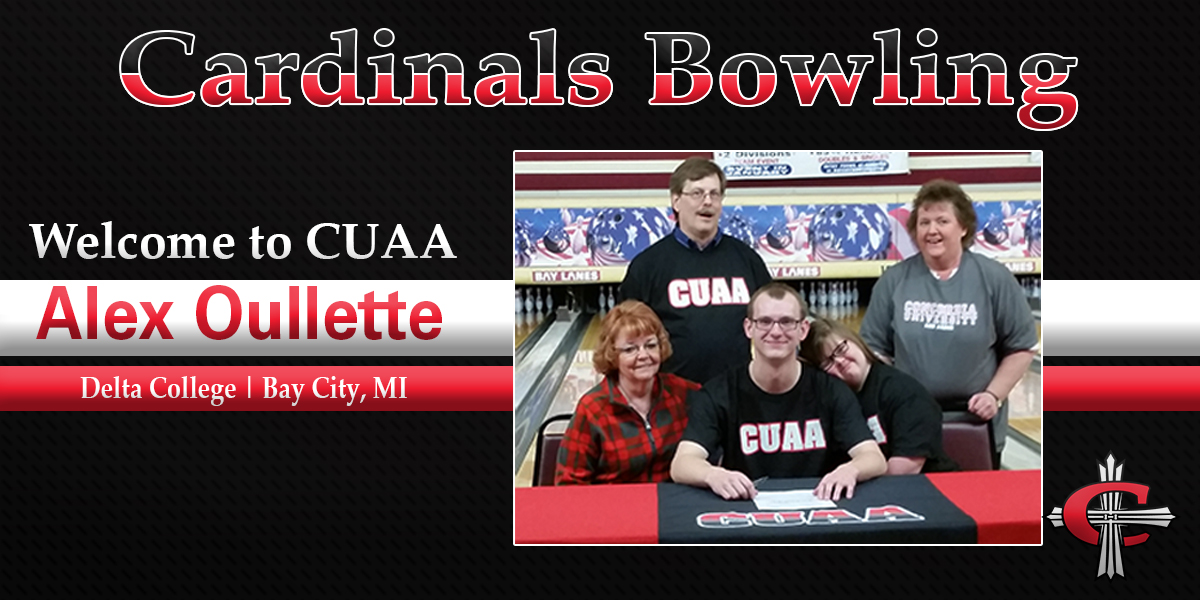Photo for Bowling signs Bay City Standout Alex Ouellette