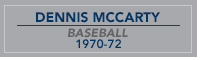 McCarty nameplate
