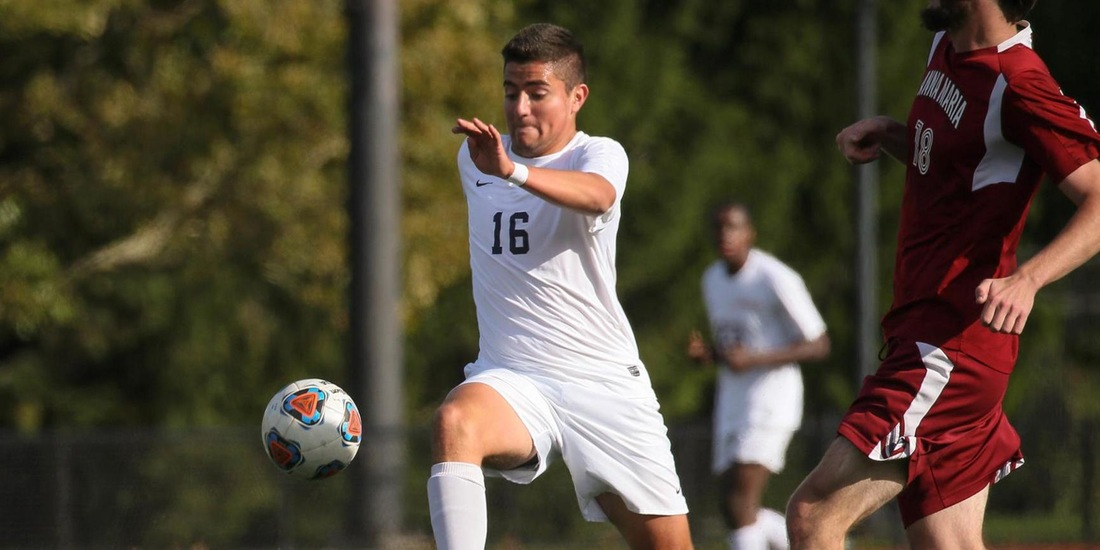 Men's Soccer Blanks Rivier