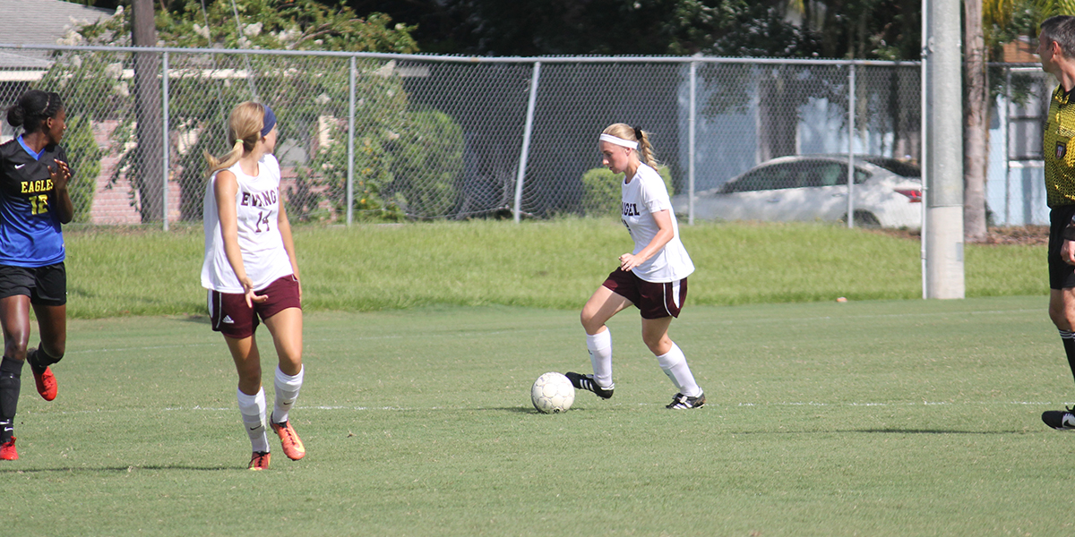 Big Second Half Gives Evangel Decisive 5-1 win over Trinity Baptist
