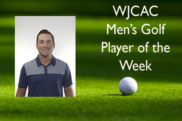 WJCAC Men's Golf Player of the Week (Oct. 29 - Nov. 4)