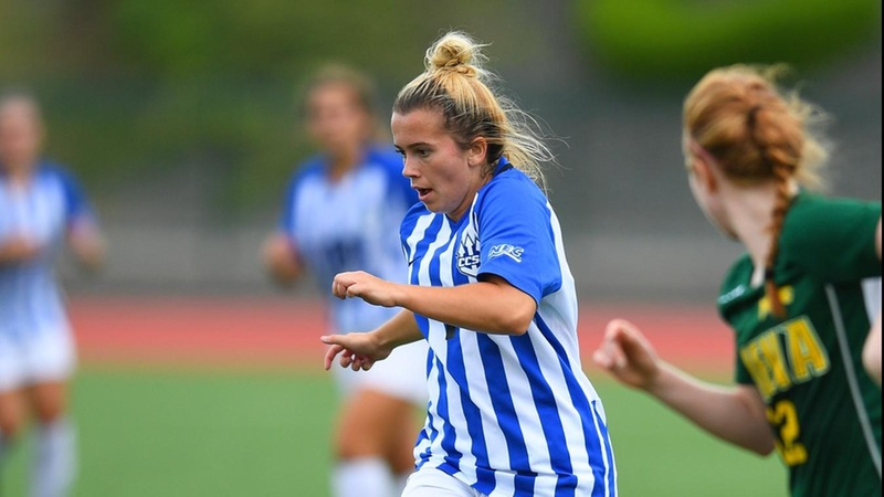 Women's Soccer Defeats Yale 2-0 on Thursday night