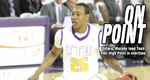 Golden Eagles turn halftime deficit upside down, win in overtime at High Point