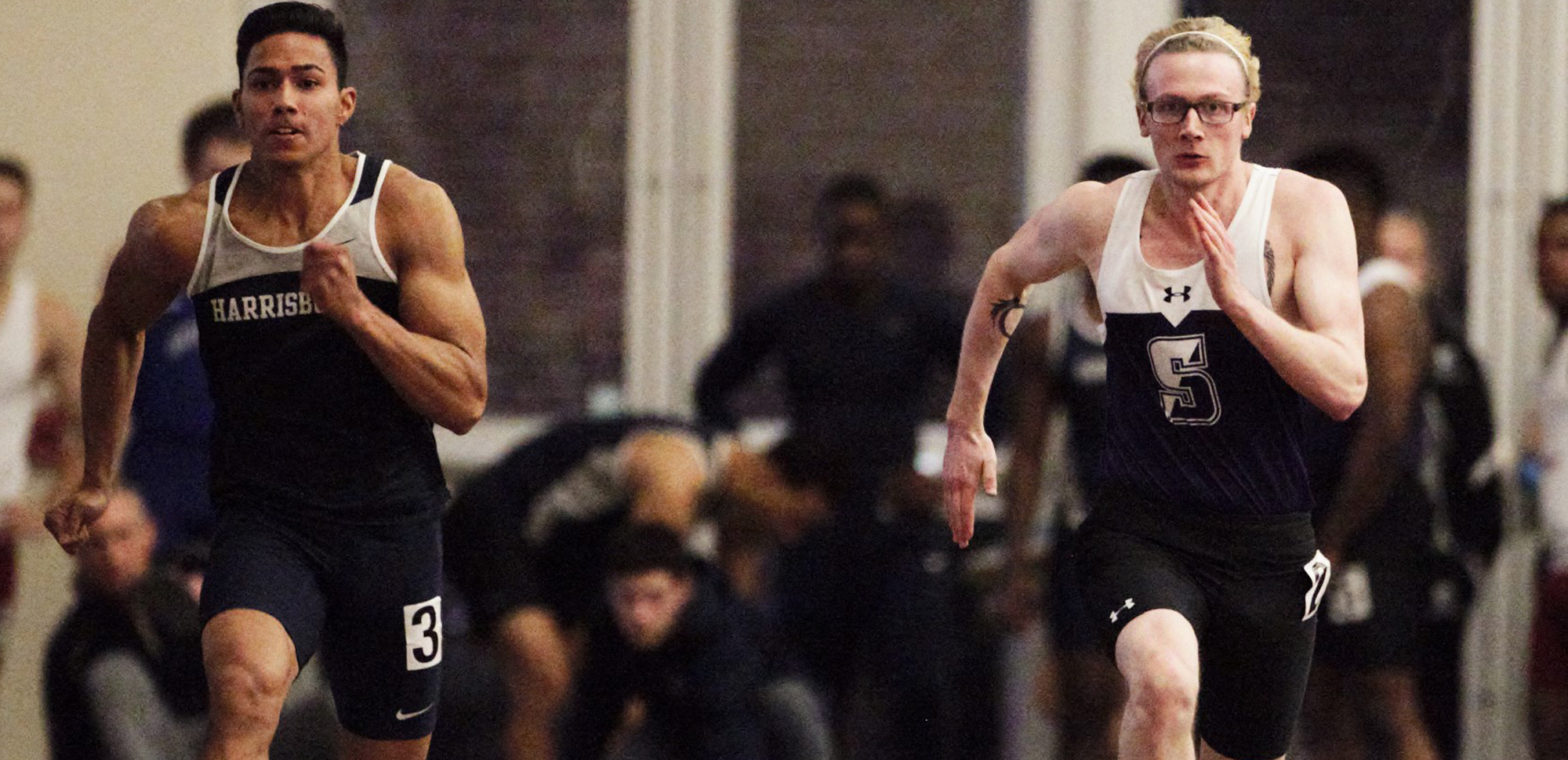 Connor Sharp and the Royals were picked sixth in the Landmark Conference men's indoor track & field preseason poll.