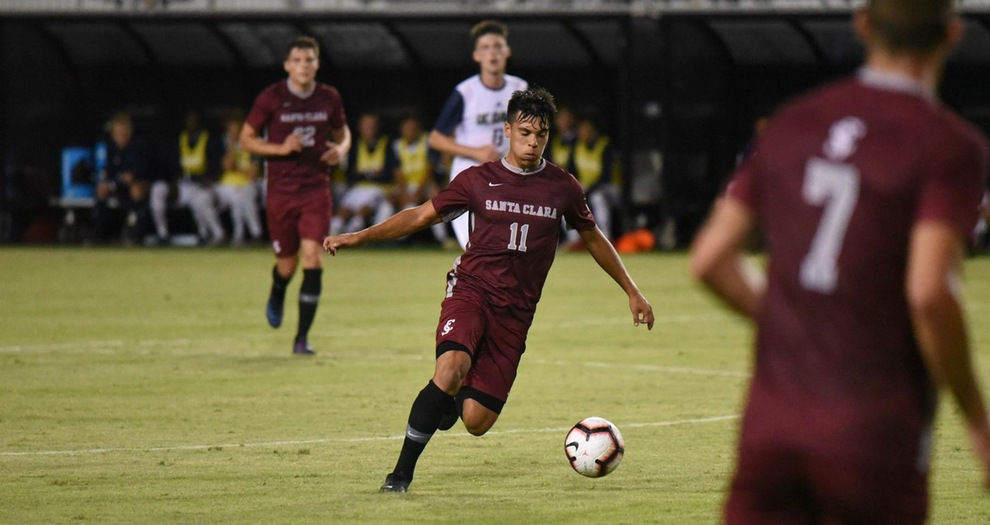 Men's Soccer Ties Sacramento State 1-1 in Final Exhibition on Sunday