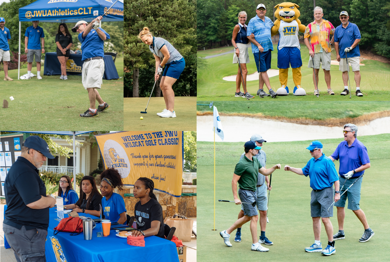 JWU Charlotte Holds 3rd Annual Wildcat Golf Classic