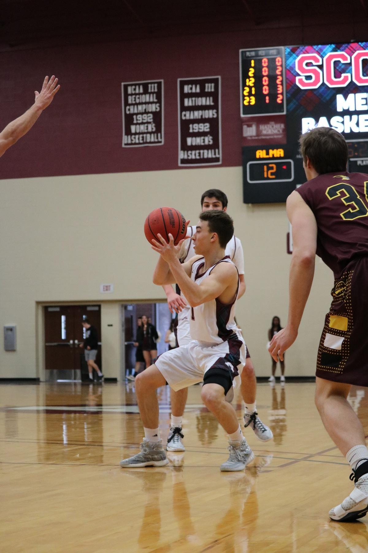 calvin college basketball schedule