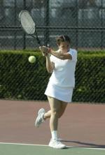 Women's Tennis Claims 7-0 Win Over Baker