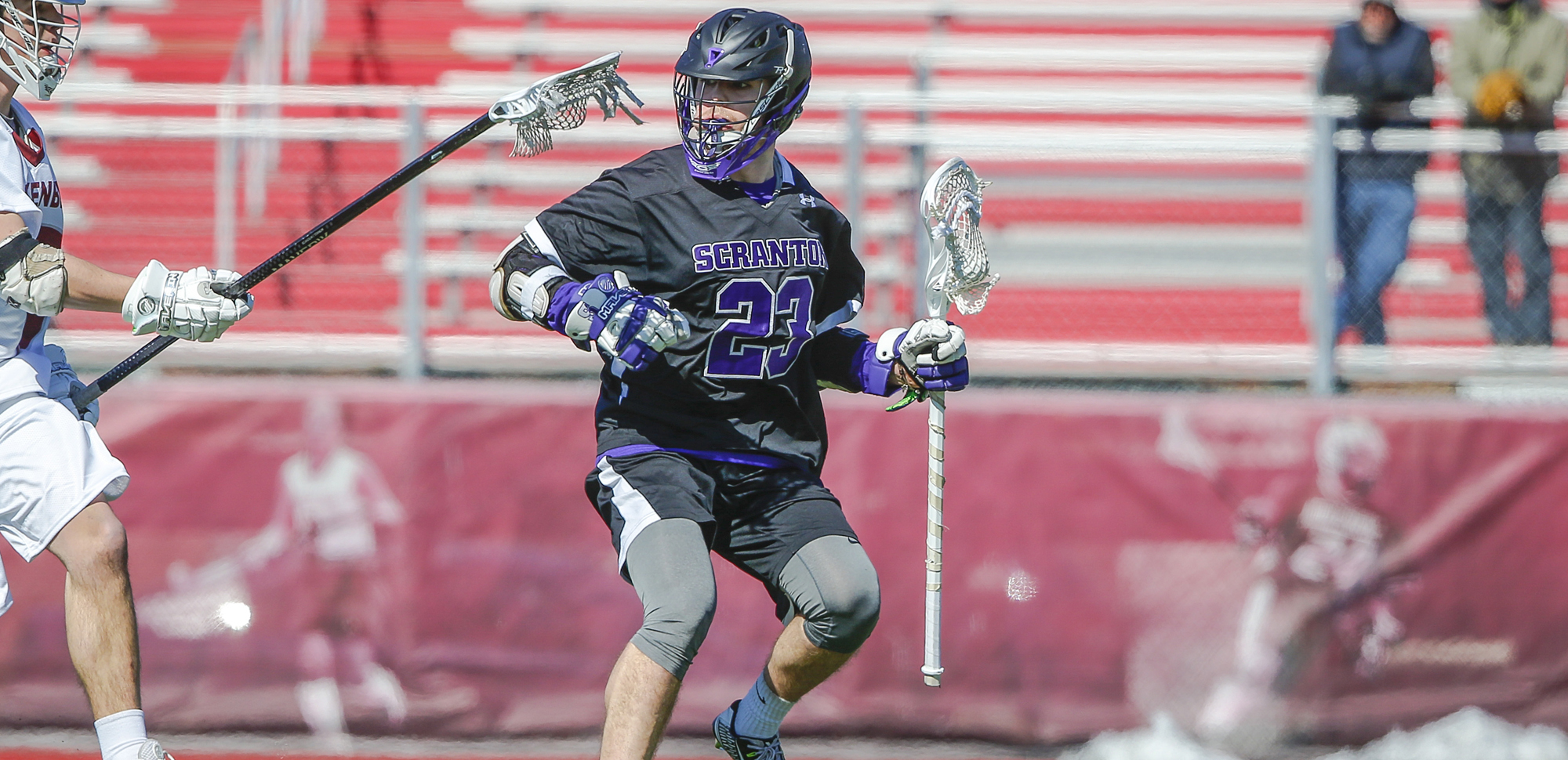 Senior attackman Jake Haimson and the Royals were picked third in the Landmark Conference preseason poll.