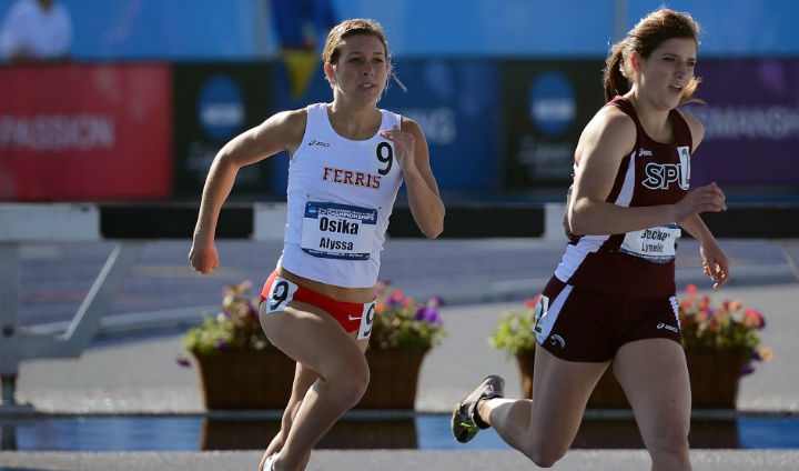 FSU's Alyssa Osika Finishes 12th Overall In Prelims Of 800 Meters At NCAA-II Championships