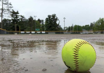Softball home opener postponed