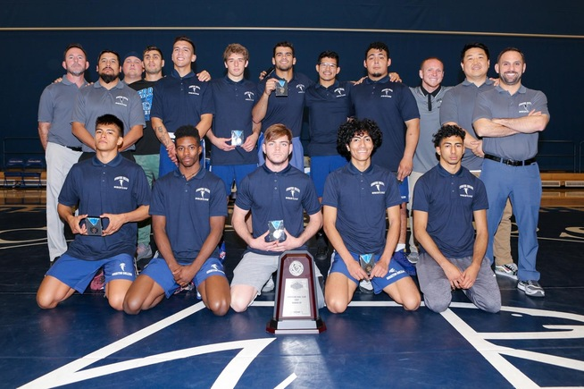 The Falcons reached their fourth straight CCCAA Team Dual State Championship match