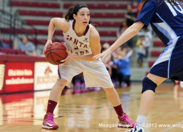 Women's Basketball Falls to Portland in WCC Tournament