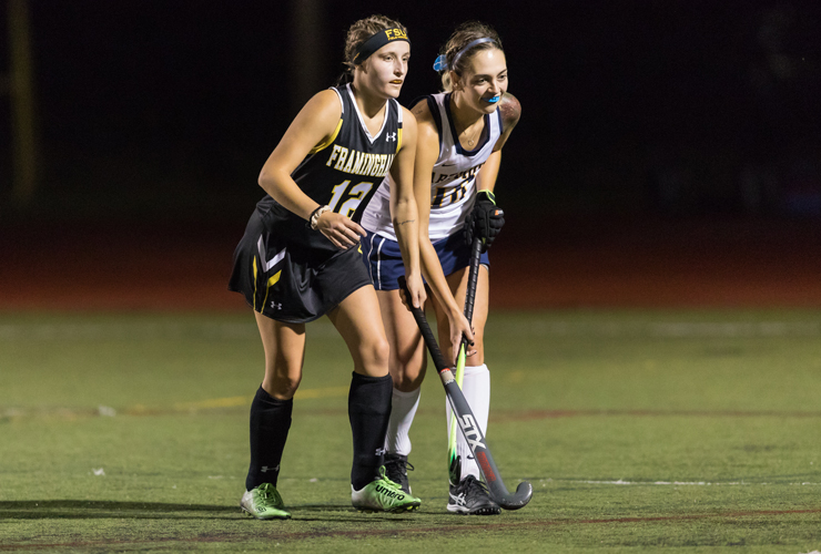 Field Hockey Earns 2-1 Win Over Fitchburg in LEC Opener