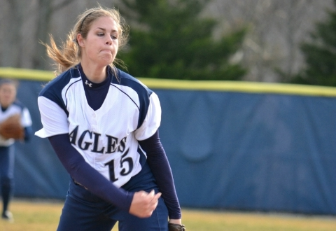 Otterman Named CAC Rookie of the Year as Five Eagles Named to All-CAC Softball Teams