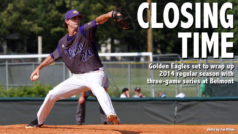 Golden Eagles set to wrap up regular season with three-game set at Belmont