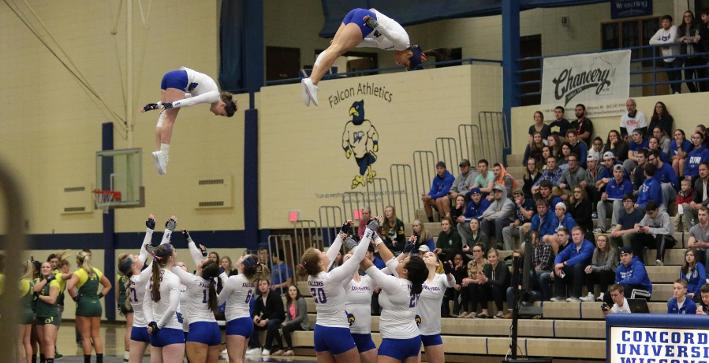 Acrobatics & Tumbling continues to improve, loses to Gannon
