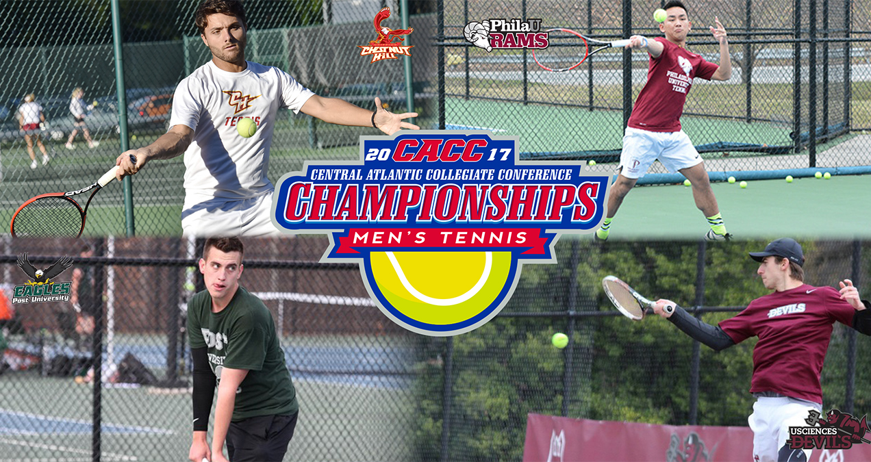 Field is Set for 2017 CACC Men's Tennis Championship