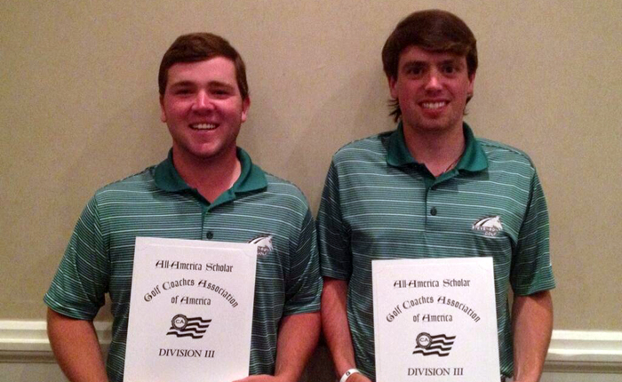 Hughes, Lukehart Named GCAA All-America Scholars; Lukehart All-Region