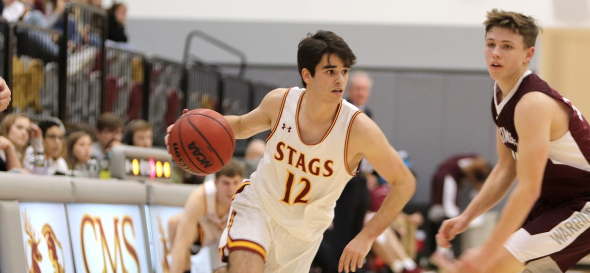 JD Levine Scores Career-High 18 Points, CMS Men's Basketball Coasts to 88-69 Win Over Westmont