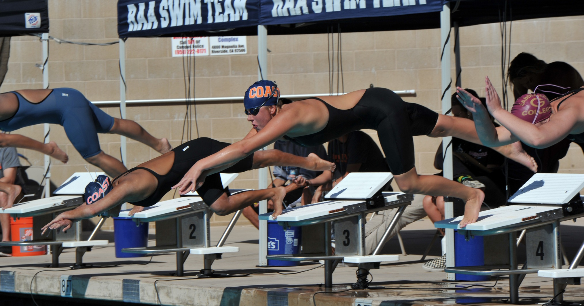 Pirate women rule the pool at OEC Championships