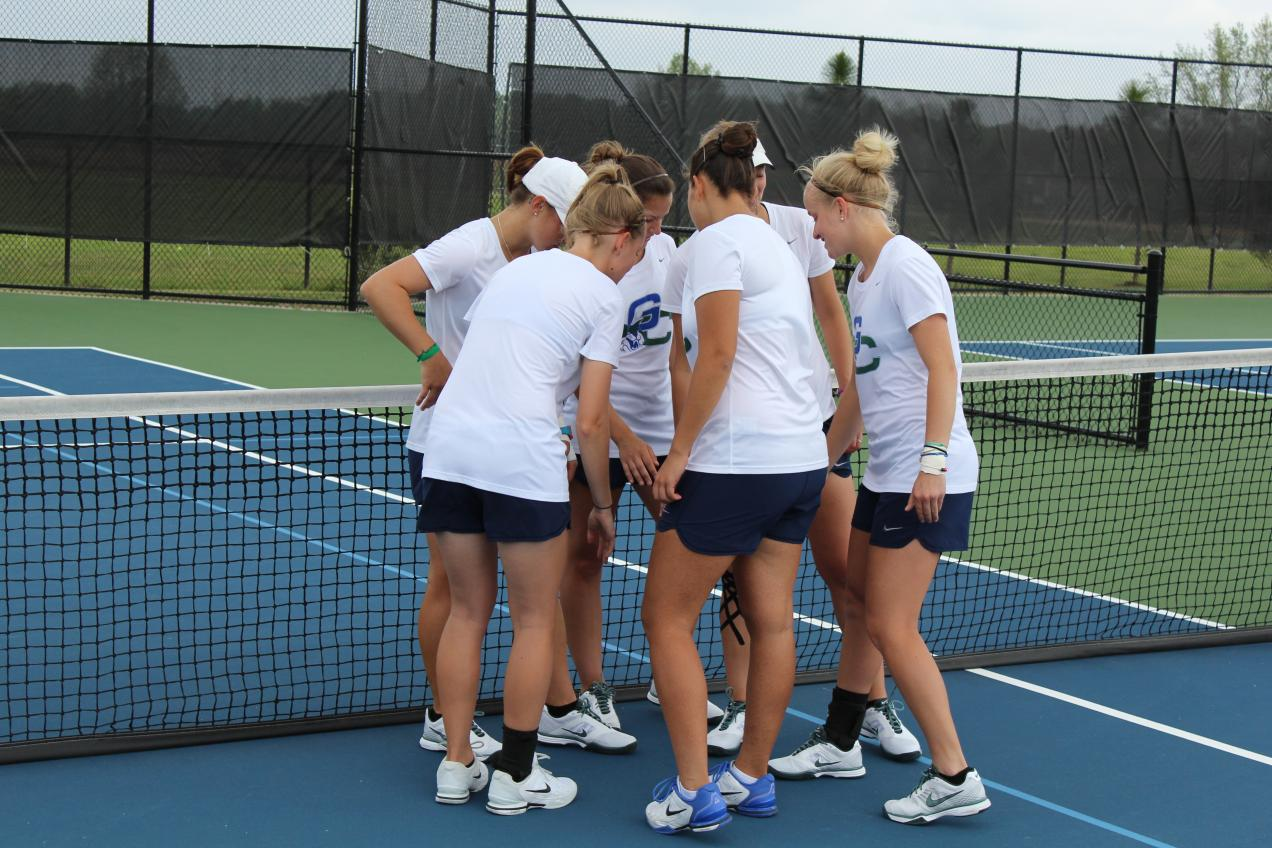 GC Women's Tennis Improves to Fourth in Region
