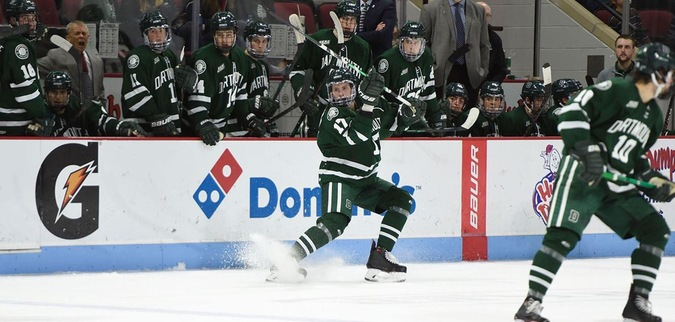 Dartmouth Mounts Late Comeback But Falls to Union in OT