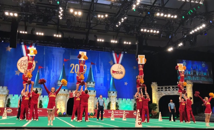 Jones College cheerleaders earn high honors in UCA national competition