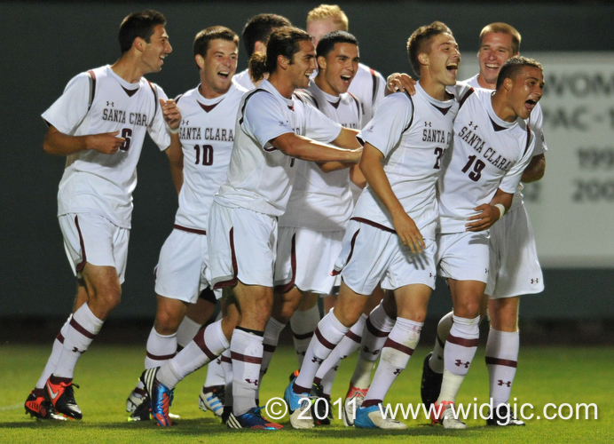 Santa Clara Earns Key Road Victory Over Stanford, 2-1