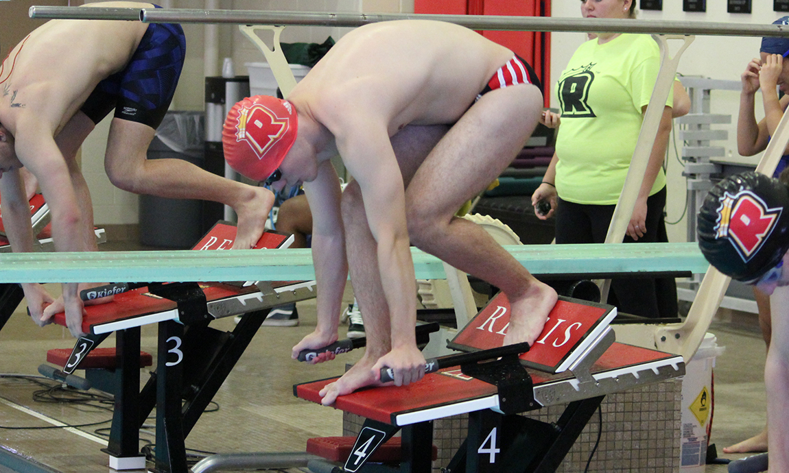 Men's Swimming Takes Home Victory