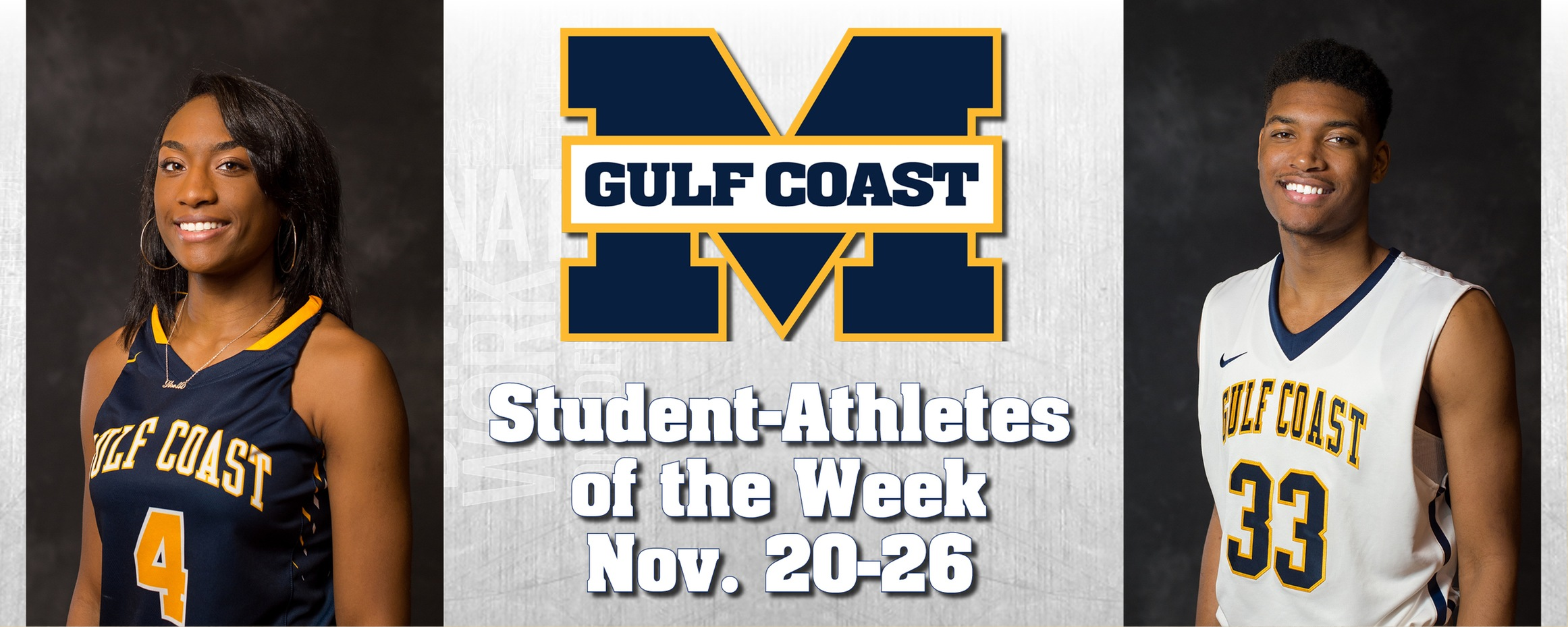Thigpen, Green named MGCCC Student-Athletes of the Week