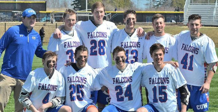 Falcons put on a show during Senior Day victory