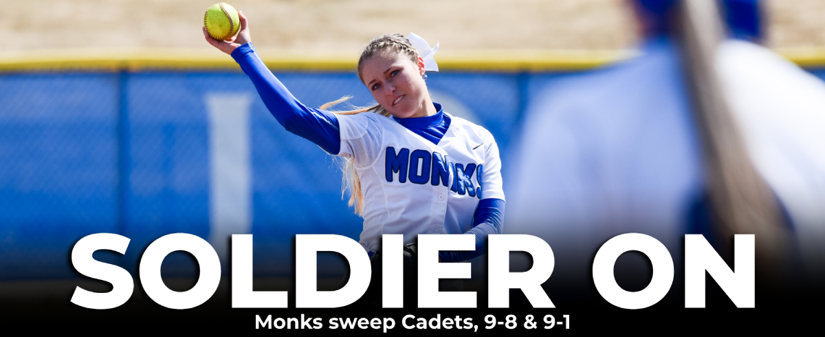Monks Complete GNAC Weekend Sweep with Two W's at Norwich
