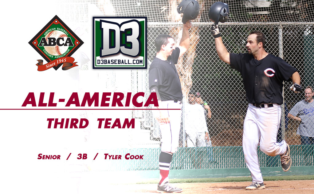 Cook concludes career with All-American honors