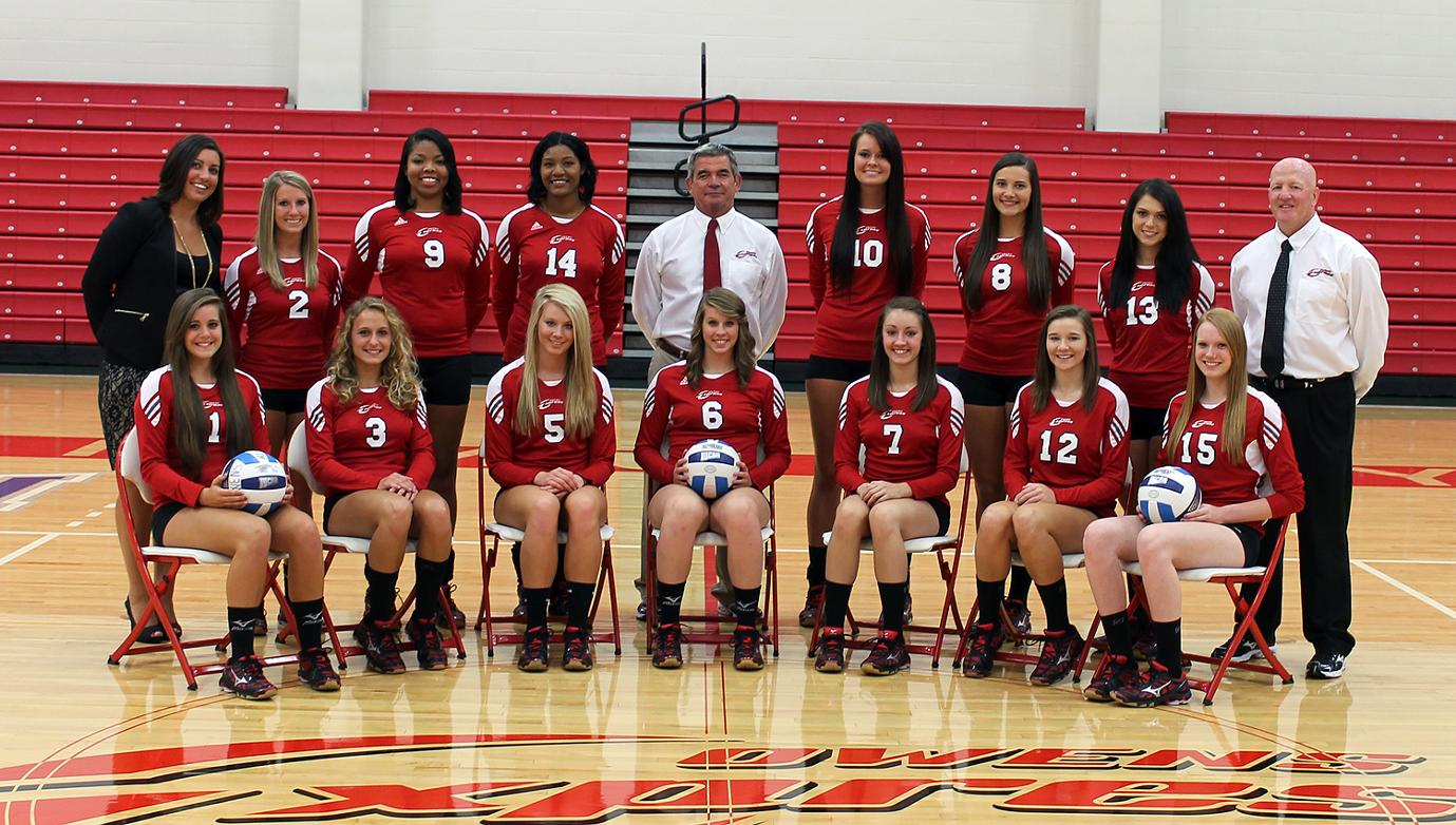 2013-14 Owens Express Volleyball Roster - Owens