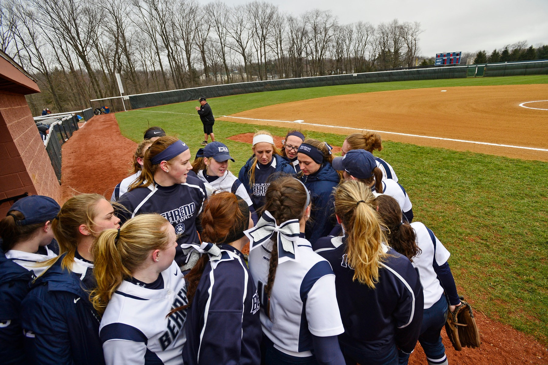 Softball Secures No. 1 Seed for AMCC Tournament; Lions Sweep Altoona