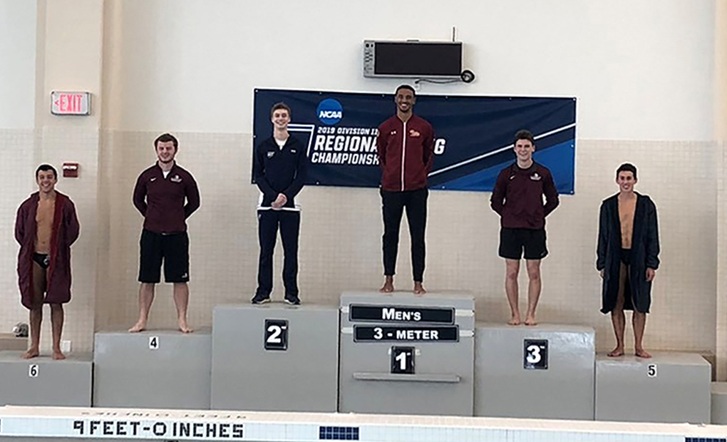 Bumgarner Takes Second in 3-meter Event at NCAA Regionals