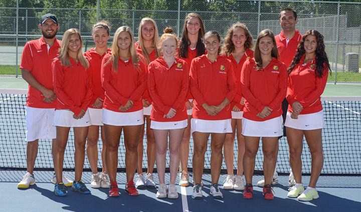 Women's Tennis Wraps Up Homestand With Third-Straight Victory