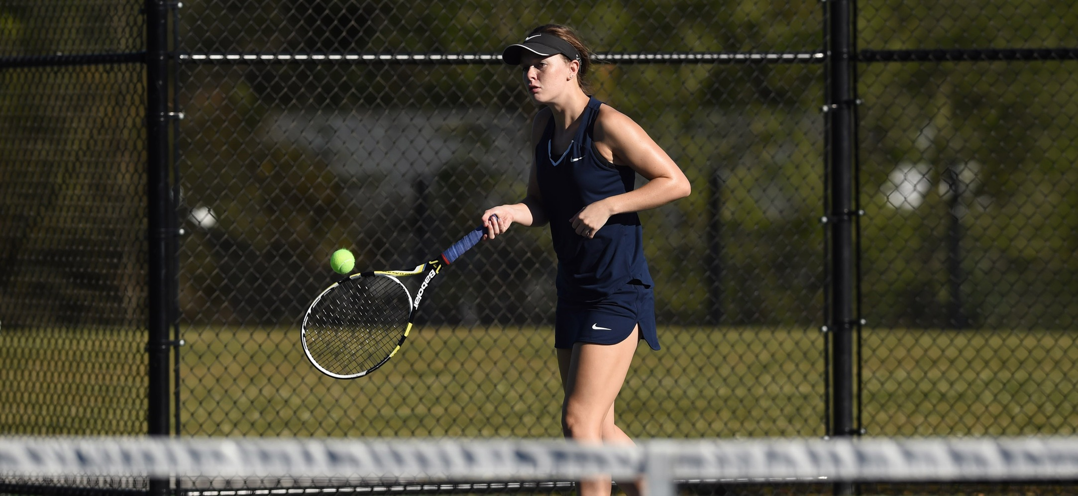 Savannah Bailey earned a win at second singles.