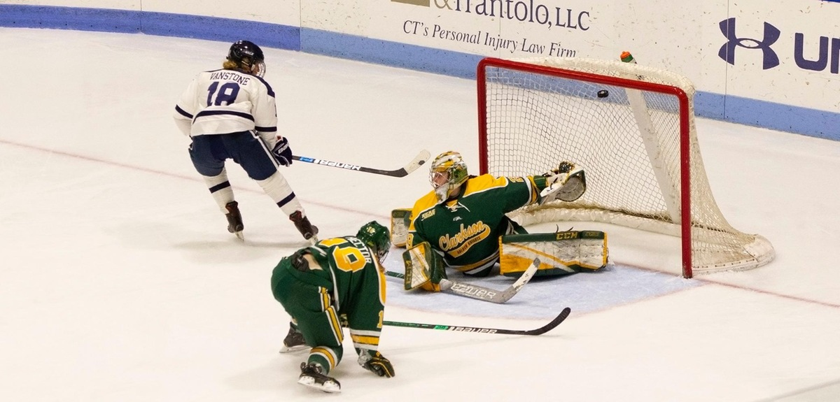Yale Upsets No. 3 Clarkson at Home