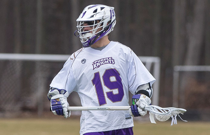Men's Lacrosse's Fourth-Quarter Comeback Falls Short in 9-7 Loss to Bentley