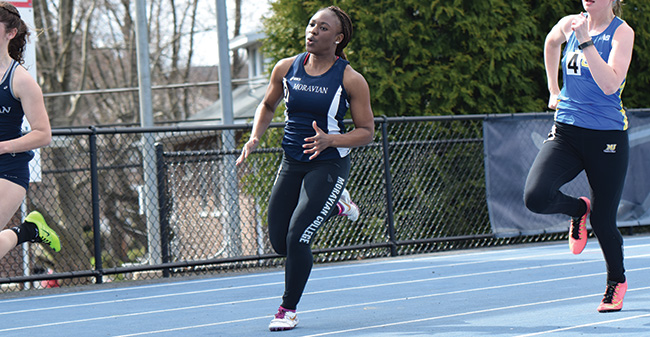 Women Record Seven ECAC Qualifying Marks at Greyhound Invitational