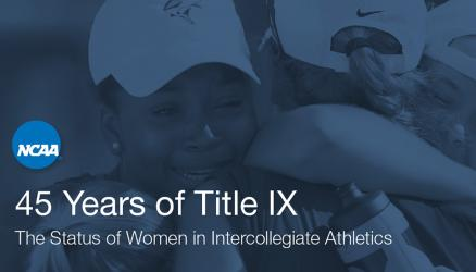 NCAA Releases New Report as Title IX Turns 45