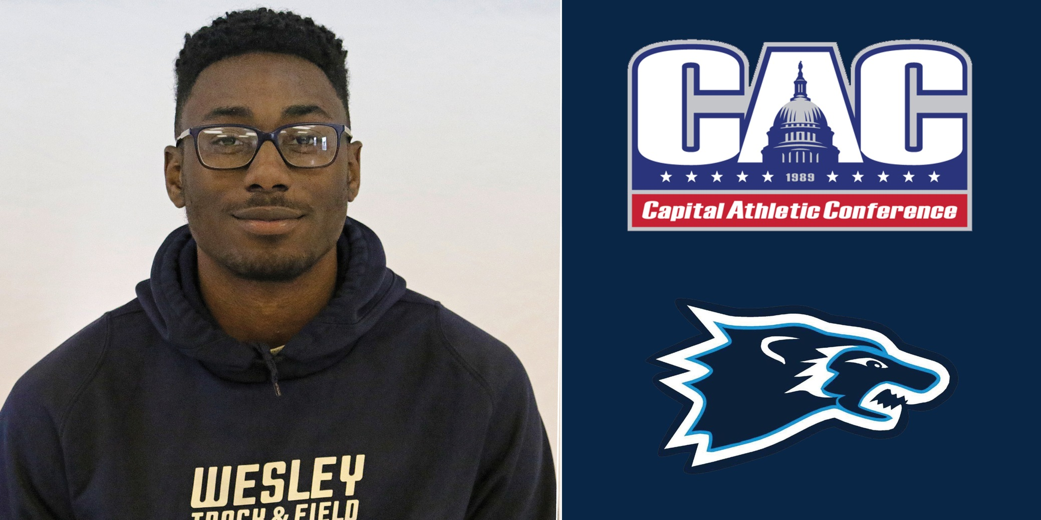 Johnson named CAC Field Athlete of the Week
